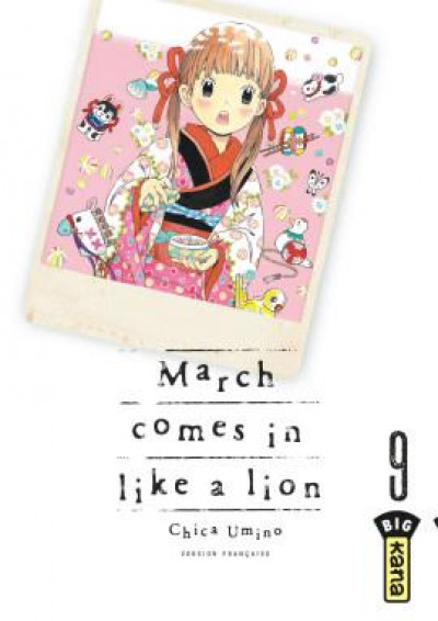 Couverture March comes in like a lion tome 9