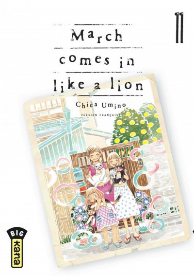 Couverture March comes in like a lion tome 11