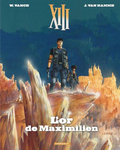 Couverture XIII - édition 2017 tome 17