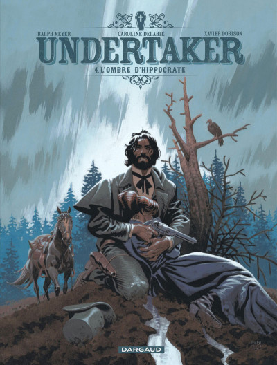 Couverture Undertaker tome 4 + ex-libris offert