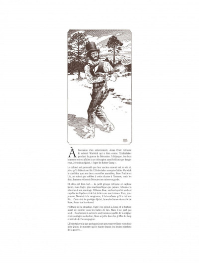Page 5 Undertaker tome 4 + ex-libris offert