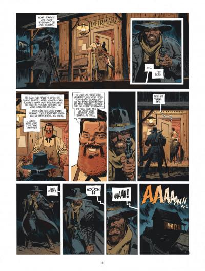 Page 8 Undertaker tome 4 + ex-libris offert