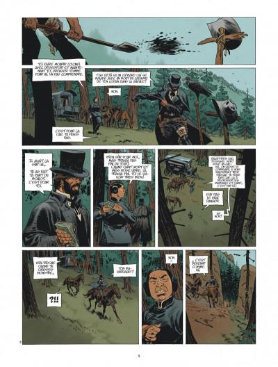 Page 9 Undertaker tome 4 + ex-libris offert