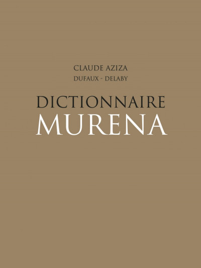 Page 3 Murena - dictionnaire