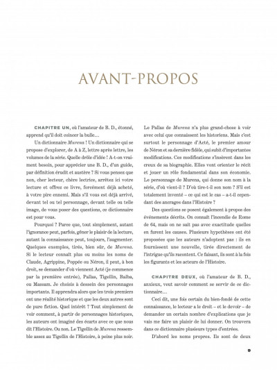 Page 9 Murena - dictionnaire