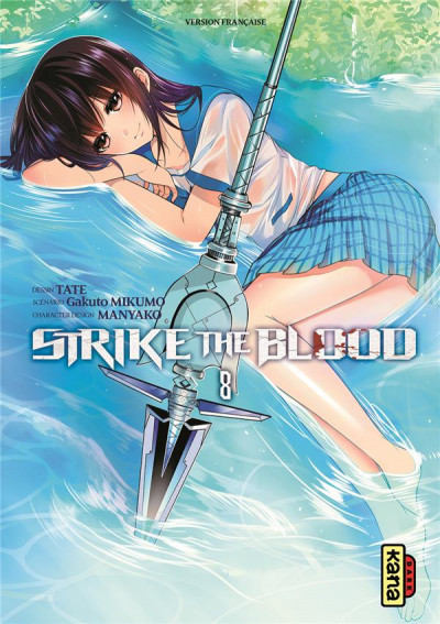 Couverture Strike the blood tome 8