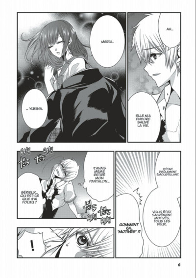Page 6 Strike the blood tome 8