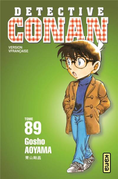 Couverture Détective Conan tome 89