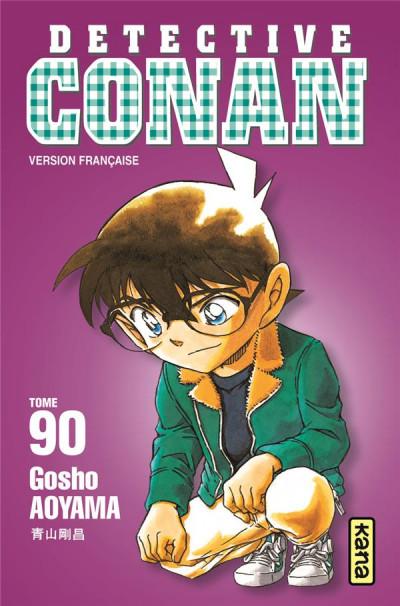 Couverture Détective Conan tome 90