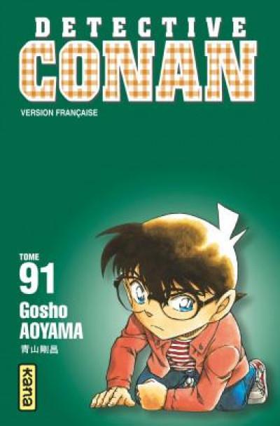 Couverture Détective Conan tome 91