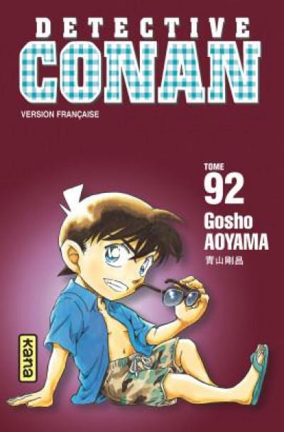 Couverture Détective Conan tome 92