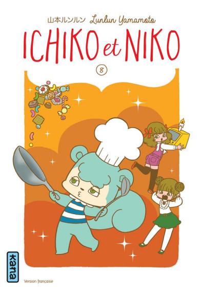 Couverture Ichiko et Niko tome 8