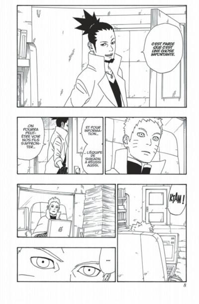 Page 8 Boruto tome 2