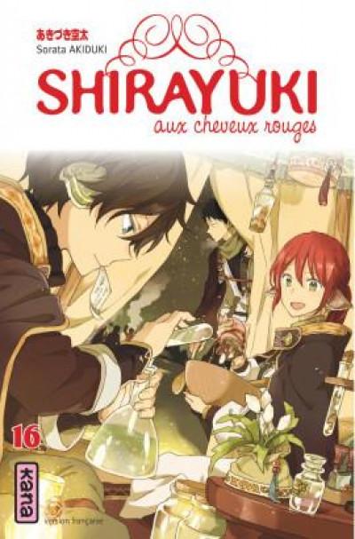 Couverture Shirayuki aux cheveux rouges tome 16