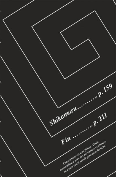 Page 5 Naruto - Le roman de Shikamaru