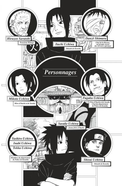 Page 6 Naruto roman - La véritable histoire d'Itachi tome 1