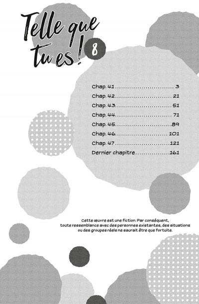 Page 3 Telle que tu es ! tome 8