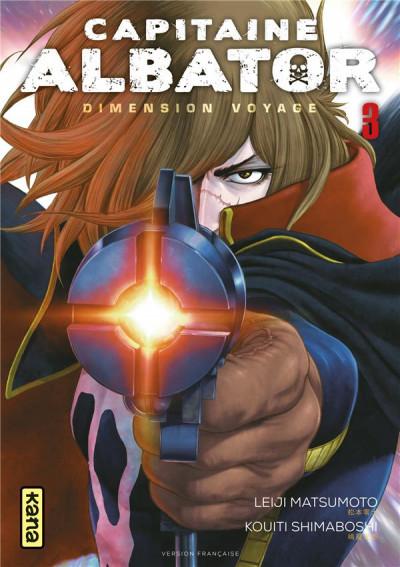 Couverture Capitaine Albator - Dimension voyage tome 3