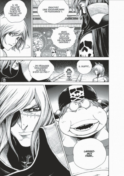 Page 9 Capitaine Albator - Dimension voyage tome 3