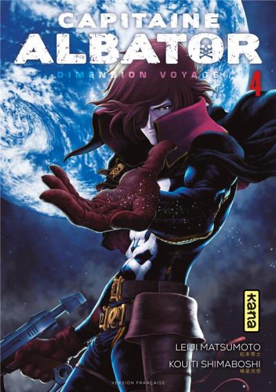 Couverture Capitaine Albator - Dimension voyage tome 4