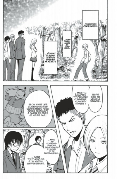 Page 9 Assassination classroom tome 17