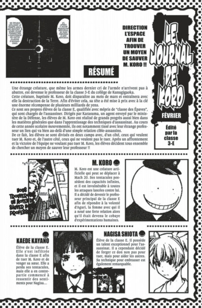 Page 4 Assassination classroom tome 18