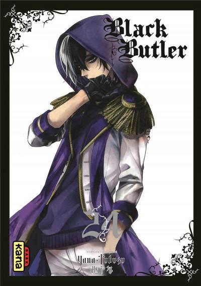 Couverture Black butler tome 24
