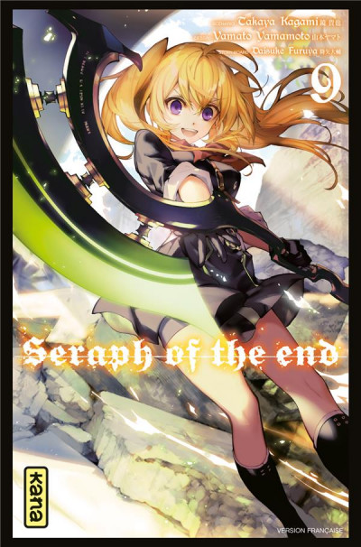 Couverture Seraph of the end tome 9