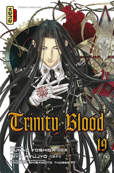 Couverture Trinity blood tome 19