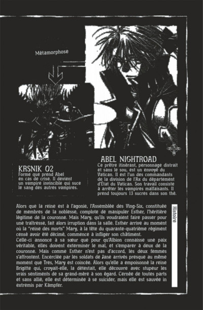 Page 2 Trinity blood tome 19