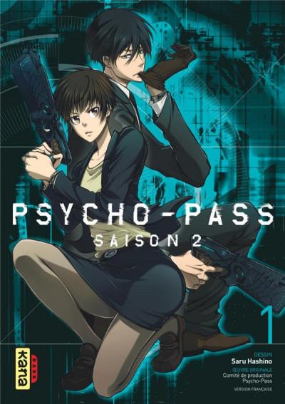 Couverture Psycho-pass - saison 2 tome 1