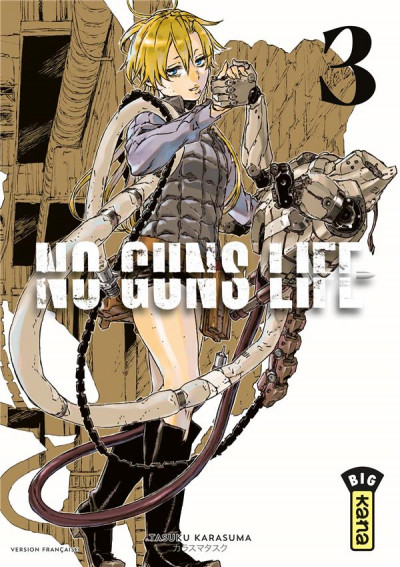 Couverture No guns life tome 3