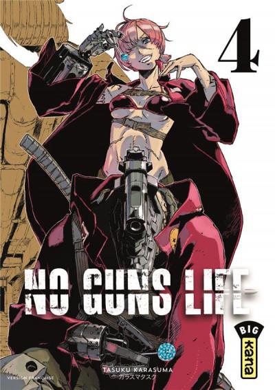 Couverture No guns life tome 4