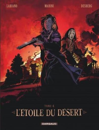 Couverture L'étoile du désert tome 4