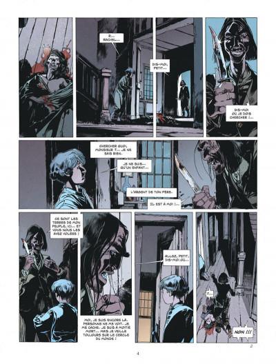 Page 4 L'étoile du désert tome 4