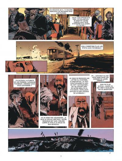 Page 7 L'étoile du désert tome 4