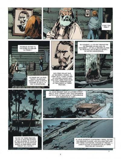 Page 9 L'étoile du désert tome 4