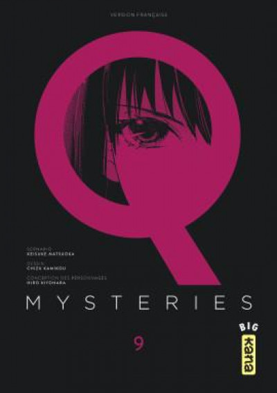 Couverture Q mysteries tome 9