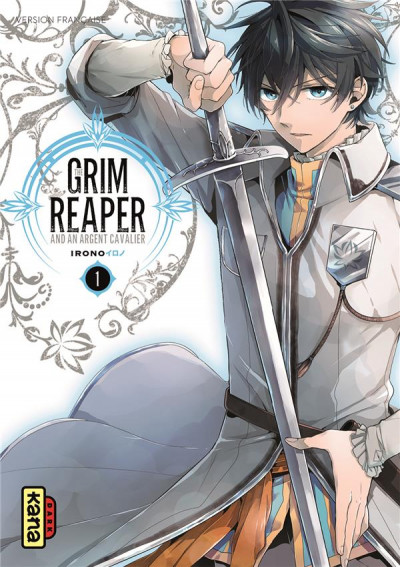Couverture The Grim reaper and an argent cavalier tome 1