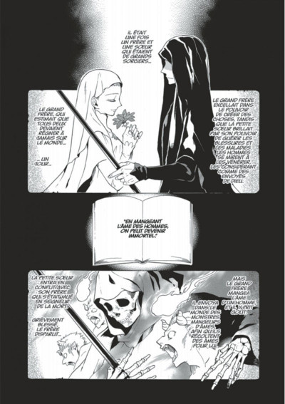 Page 3 The Grim reaper and an argent cavalier tome 1