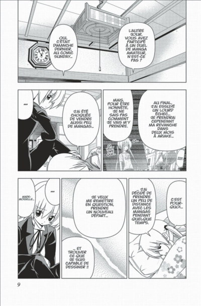 Page 9 Hayate the combat butler tome 32