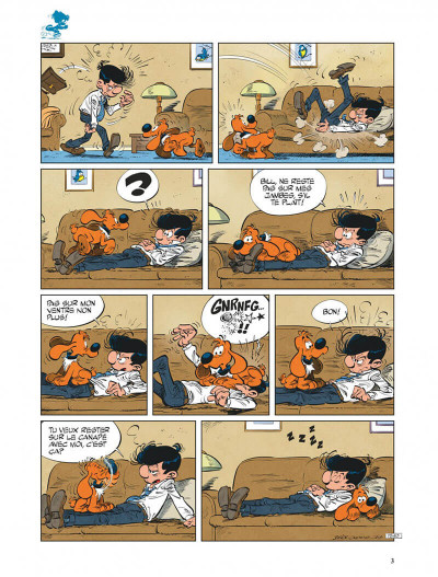 Page 3 Boule & Bill tome 38