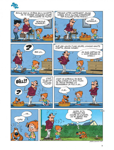 Page 9 Boule & Bill tome 38