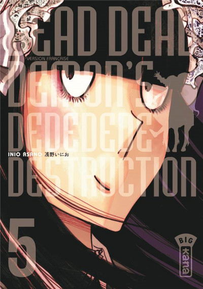 Couverture Dead dead demon's dededededestruction tome 5