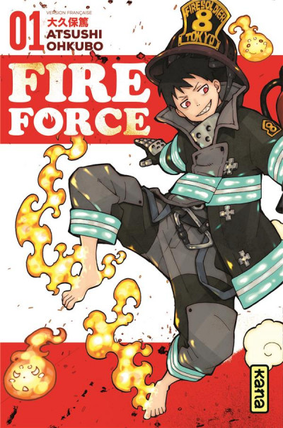 Couverture Fire force tome 1
