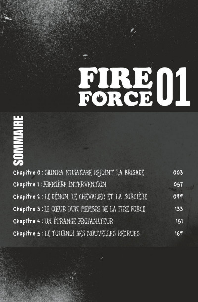 Page 2 Fire force tome 1