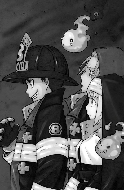 Page 5 Fire force tome 1