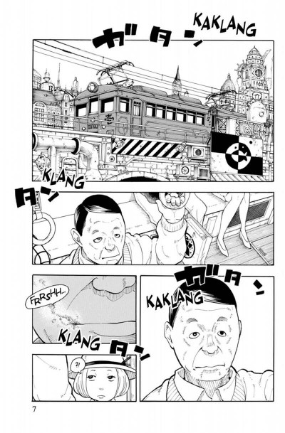 Page 7 Fire force tome 1