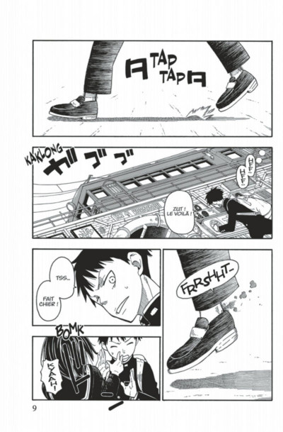 Page 9 Fire force tome 1
