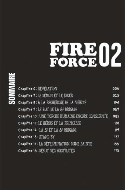 Page 4 Fire Force tome 2